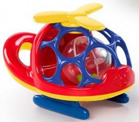 """Развивающая игрушка Oball """"Вертолёт"""" красный"""