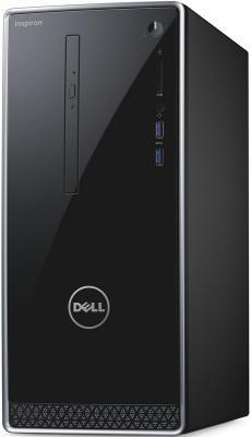 Системный блок DELL Inspiron 3668 i5-7400 8Gb 1Tb GTX1050Ti-2Gb DVD-RW Win10SL клавиатура мышь черный 3668-1813 ноутбук dell inspiron 3567