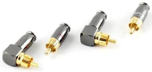 Коннектор Kicx DRCA-4SA серебристый/золотистый 4шт kicx kap 27