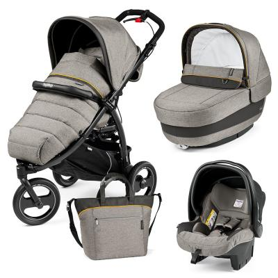 Коляска 3-в-1 Peg-Perego Book Cross Set XL Elite (luxe grey) peg perego n xl pr v tf bor sunset