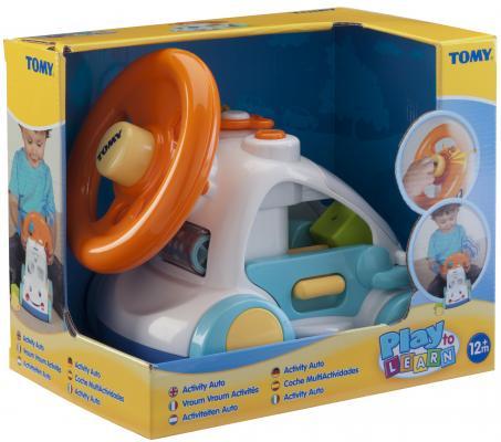 Интерактивная игрушка Tomy автомобиль с сортером Activity Auto от 12 месяцев разноцветный от 123.ru