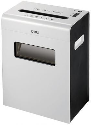 Уничтожитель бумаг Deli E9921-EU 6 листов 16л дырокол deli vivid e0123 20 листов ассорти белый