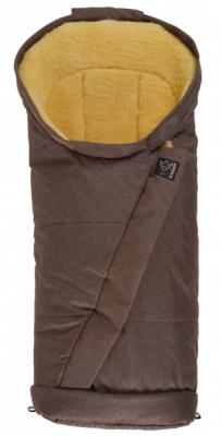 Конверт меховой Kaiser Coosy (brown melange)