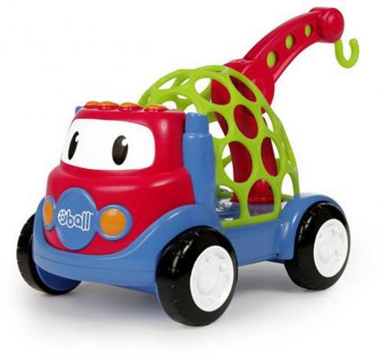 Грузовик Oball 10735 разноцветный oball игрушечный трек