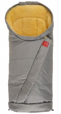 Конверт меховой Kaiser Coosy (gray melange) конверт меховой kaiser dublas gray melange natural white