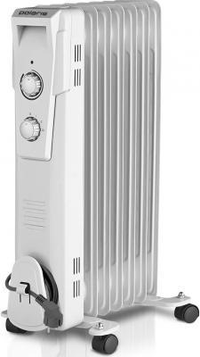 Масляный радиатор Polaris PRE G 0615 1500 Вт термостат белый цена
