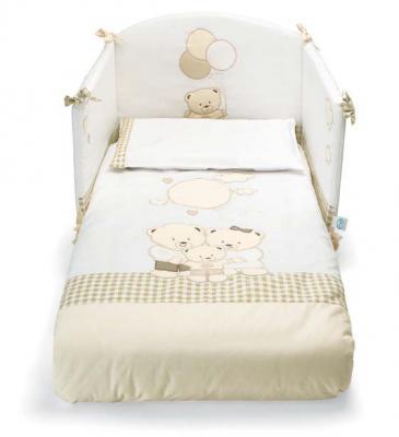 Комплект постельного белья 3 предмета Pali Chic (белый)