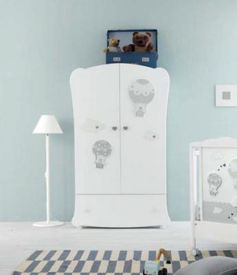 Шкаф двухстворчатый Pali Bonnie (белый) цены