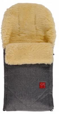 Конверт меховой Kaiser Dublas (anthracite melange) конверт детский kaiser kaiser конверт зимний меховой lenny braun коричневый