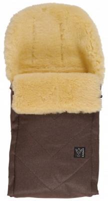 Купить Конверт меховой Kaiser Dublas (brown melange), универсальный, для мальчика, Конверты