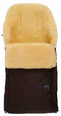Купить Конверт меховой Kaiser Dublas (brown), универсальный, для мальчика, Конверты