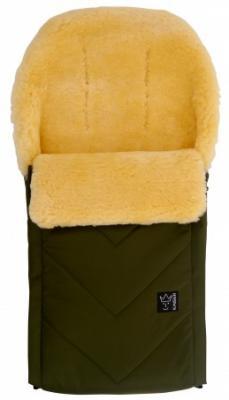 Купить Конверт меховой Kaiser Dublas (khaki), универсальный, для мальчика, Конверты