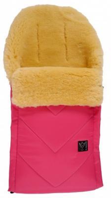 Конверт меховой Kaiser Dublas (pink) конверт детский kaiser серый меланж