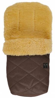 Конверт меховой Kaiser Natura (brown melange) рукавицы kaiser twooly brown melange