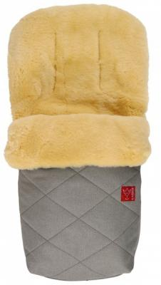 Купить Конверт меховой Kaiser Natura (gray melange), универсальный, унисекс, Конверты