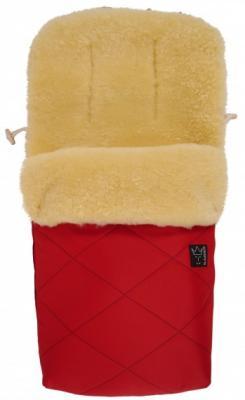 Конверт меховой Kaiser Natura (red) конверт детский kaiser сине белый
