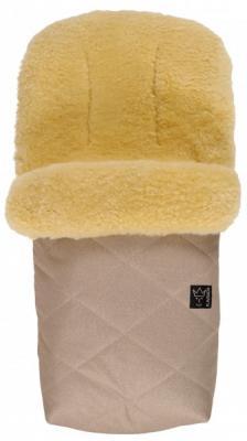 Конверт меховой Kaiser Natura (sand melange) конверт детский kaiser kaiser конверт зимний меховой lenny sand бежевый