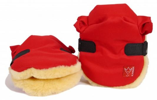 Рукавицы Kaiser Twooly (red)