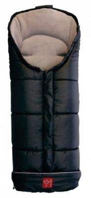 Конверт флисовый Kaiser Iglu Thermo Fleece (black/black/light gray)