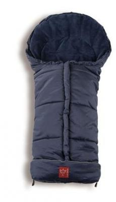 Конверт флисовый Kaiser Jooy Microfleece (melange dark blue ) конверт флисовый kaiser jooy microfleece pink light grey