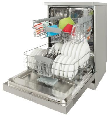 Посудомоечная машина Ariston HFC 3C26 X серебристый от 123.ru