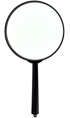 Лупа канцелярская, диаметр 100 мм, 3 - кратное увеличение