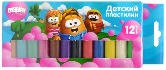 "Пластилин Action! ""Пузыри"" 12 цветов"
