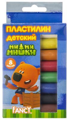 Купить Пластилин Action! Fancy 8 цветов в ассортименте FMC8-110