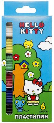 Пластилин Action! Hello Kitty 6 цветов скейтборд action 30 quot х10 quot pws 700