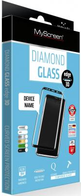 Защитное стекло прозрачная Lamel MyScreen 3D DIAMOND Glass EA Kit Black для iPhone 6 Plus iPhone 6S Plus 0.33 мм