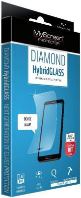 Защитное стекло прозрачная Lamel MyScreen DIAMOND HybridGLASS EA Kit для iPhone 6 iPhone 6S 0.15 мм защитное стекло прозрачная lamel myscreen 3d diamond glass ea kit white для iphone 6 plus iphone 6s plus 0 33 мм