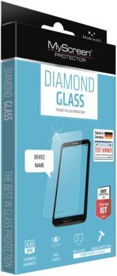 Защитное стекло прозрачная Lamel MyScreen DIAMOND Glass EA Kit для iPhone 6 iPhone 6S 0.33 мм защитное стекло прозрачная lamel myscreen 3d diamond glass ea kit white для iphone 6 plus iphone 6s plus 0 33 мм