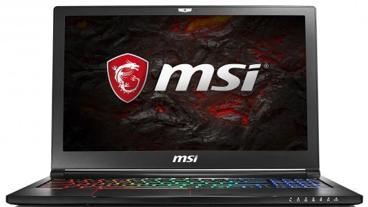 Ноутбук MSI GS63 7RE-045RU Stealth Pro 15.6 1920x1080 Intel Core i7-7700HQ 9S7-16K412-045 ноутбук msi gs43vr 7re 094ru phantom pro 14 1920x1080 intel core i5 7300hq 9s7 14a332 094