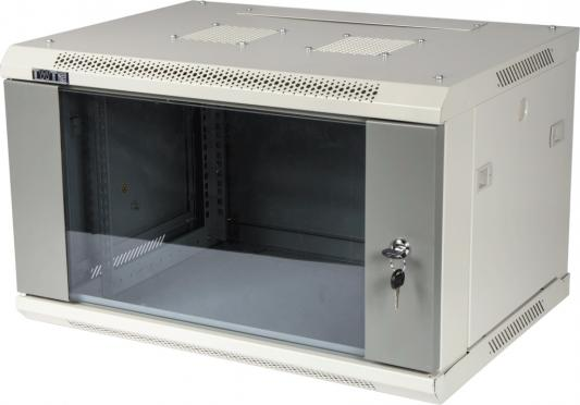 лучшая цена Шкаф настенный 9U Lanmaster TWT-CBWPG-9U-6X6-GY 600x600mm серый 60кг