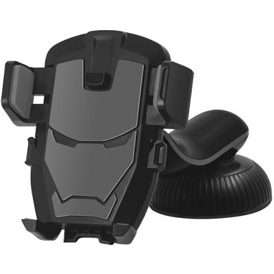 Автомобильный держатель Wiiix HT-25T5-IRON держатель wiiix ht 25t iron черный