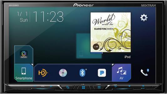 Автомагнитола Pioneer AVH-Z5000BT USB MP3 CD DVD FM 2DIN 4x50Вт черный автомагнитола pioneer avh z5000bt usb