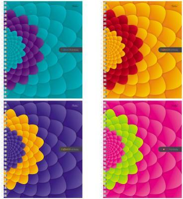 Тетрадь общая Хатбер Flower Fantasy 96Т5В1гр 96 листов клетка гребень в ассортименте тетрадь 12 листов а5 крупная клетка хатбер серия зеленая 10шт в блистере 12т5b8