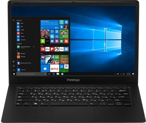 Ноутбук Prestigio Smartbook 141C 14.1 1920x1080 Intel Atom-x5-Z8350 PSB141C01BFH_BK_CIS ноутбуки prestigio ноутбук prestigio smartbook 141c black