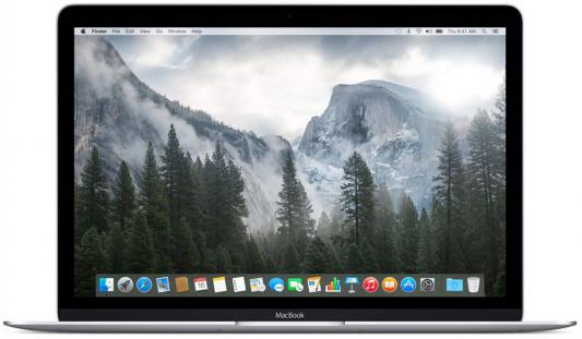 Ноутбук Apple MacBook 12 2304x1440 Intel Core M3 256 Gb 8Gb  HD Graphics 615 серебристый  OS  MNYH2RU/