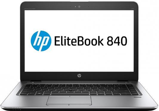 Ноутбук HP EliteBook 840 G4 14 1920x1080 Intel Core i7-7500U 1EN56EA ноутбук hp elitebook 840 g4 1en80ea core i7 7500u 16gb 1tb ssd 14 0 fullhd win10pro