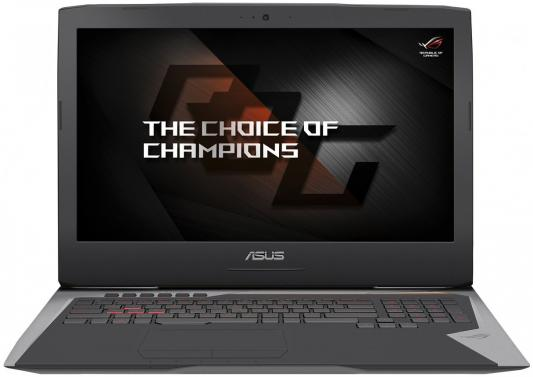 Ноутбук ASUS ROG G752VS-GB496T 17.3 3840x2160 Intel Core i7-7820HK 90NB0D71-M07090 ноутбук asus rog gl502vm