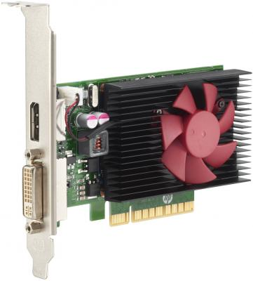 Видеокарта HP GeForce GT 730 Z9H51AA PCI-E 2048Mb 64 Bit Retail (Z9H51AA) видеокарта gigabyte geforce gt 730 gv n730d5 2gl pci e 2048mb 64 bit retail