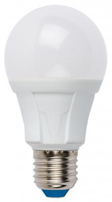 Лампа светодиодная (UL-00002005) E27 12W 6500K груша матовая LED-A60 12W/DW/E27/FR PLP01WH uniel лампа светодиодная uniel диммируемая led a60 11w ww e27 fr dim plp01wh ul 00000687