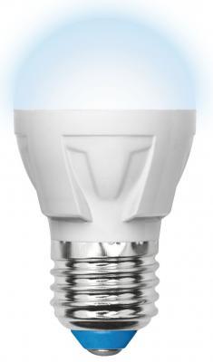 Лампа светодиодная (UL-00002418) E27 7W 4000K шар матовый LED-G45 7W/NW/E27/FR PLP01WH