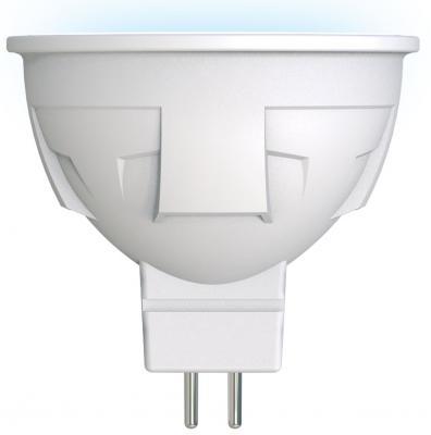 Лампа светодиодная (UL-00002422) GU5.3 6W 4000K полусфера матовая LED-JCDR 6W/NW/GU5.3/FR PLP01WH лампа светодиодная 07907 gu10 6w 4500k jcdr матовая led jcdr 6w nw gu10 fr 38d alp01wh