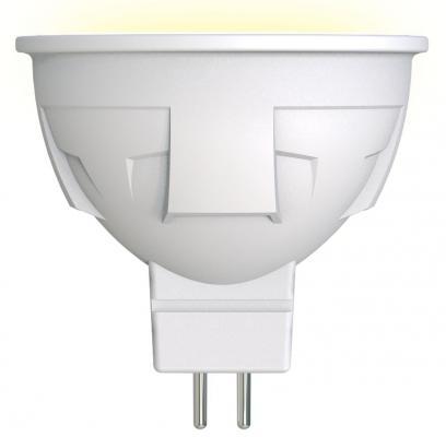 Лампа светодиодная (UL-00002424) GU5.3 6W 3000K полусфера матовая LED-JCDR 6W/WW/GU5.3/FR PLP01WH
