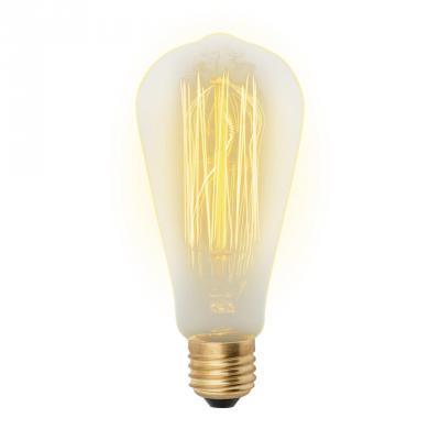 Лампа накаливания (UL-00000482) E27 60W груша золотистая IL-V-ST64-60/GOLDEN/E27 VW02