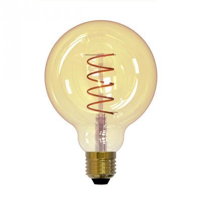Лампа светодиодная шар Uniel UL-00001818 E27 4W 2250К LED-G95-4W/GOLDEN/E27/CW GLV21GO от 123.ru