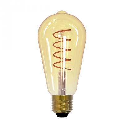 Лампа светодиодная груша Uniel UL-00001819 E27 4W 2250К LED-ST64-4W/GOLDEN/E27/CW GLV22GO