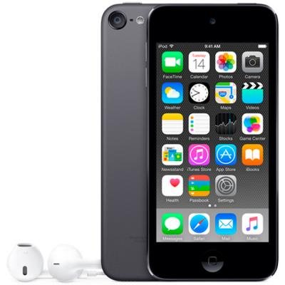 Плеер Apple iPod touch 128Gb MKWU2RU/A серый mp3 плеер apple ipod shuffle 4 2015 2gb серый